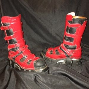 VINTAGE New Rock Punk Boots